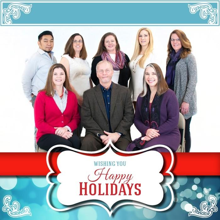 Holiday Staff Photo